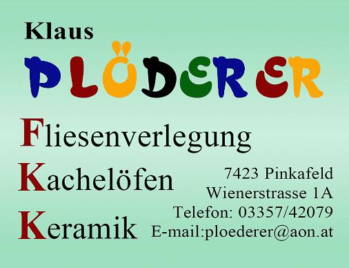 Logo Plöderer Klaus