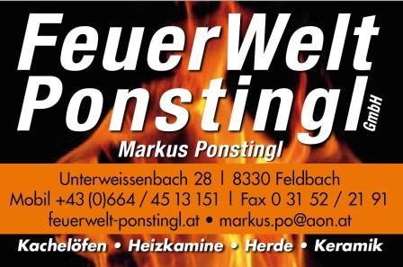 Logo FeuerWelt Ponstingl GmbH