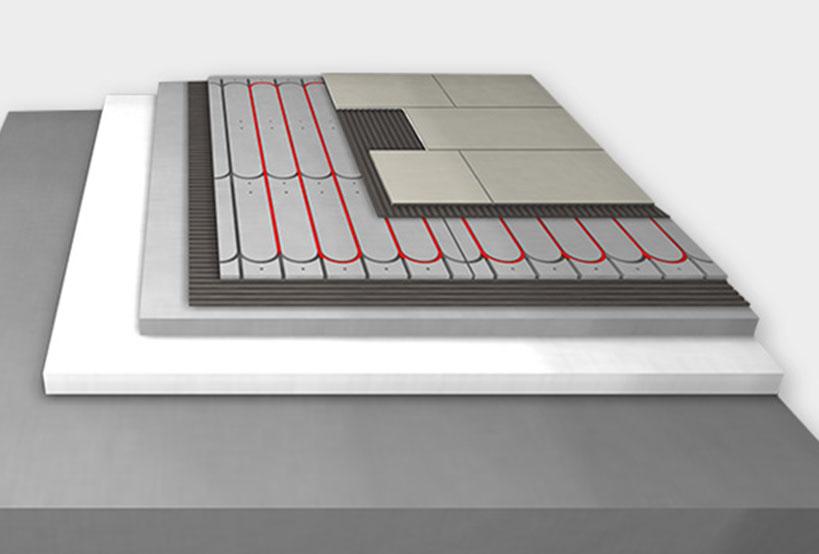 Actifloor - die flache Fußbodenheizung