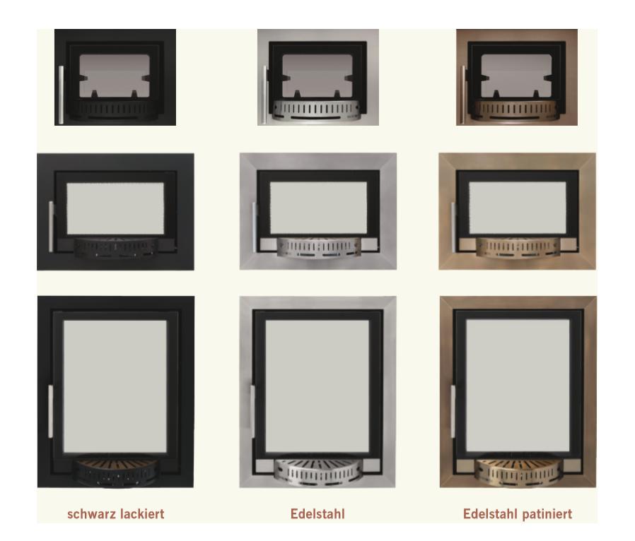 Foto von Varianten der automatischen Ofentür