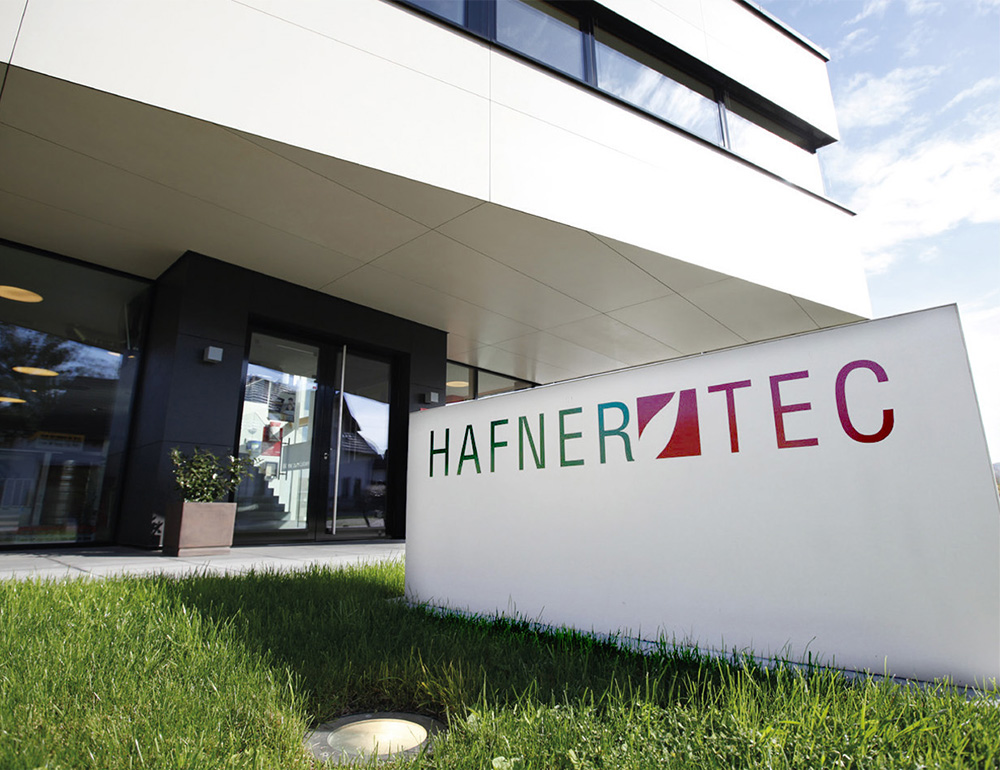 HAFNERTEC Firmengebäude Eingang