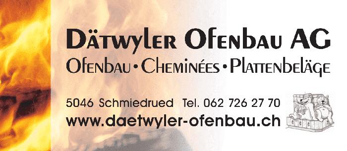 Logo Dätwyler Ofenbau AG
