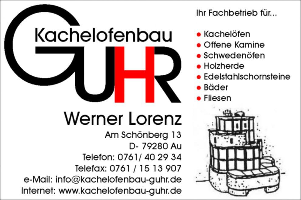 Logo Kachelofenbau Guhr