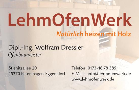 Logo LehmOfenWerk Wolfram Dressler