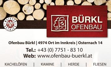 Logo Ofenbau Bürkl