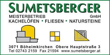 Logo Sumetsberger GmbH