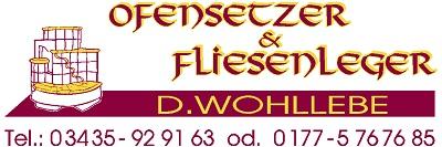 Logo Ofensetzer & Fliesenleger David Wohllebe